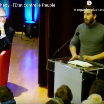 L'Etat contre le peuple – conférence