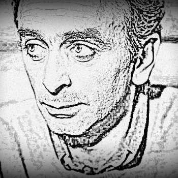 Le visage d'Eric Zemmour